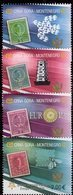 EUROPA 1956-2006 Montenegro 108/1 Aus Block 2 A ** 11€ Hoja M/s Maps Bloc History S/s Stamps On Stamp Sheet Bf CEPT - 2006