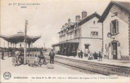 SEMBADEL - La Gare P.L.M. - Bifurcation Des Lignes Le Puy à Vichy Et Craponne - Otros Municipios