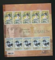Feuillet émis Par Bpost ND  MNH XX La Reine Elisabeth  2015 - Foglietti