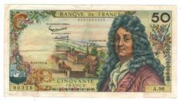 FRANCE , 50 Fr. Racine. 1965. Crisp. VF. - 1962-1997 ''Francs''