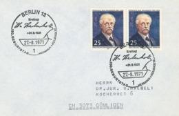Hermann Ludwig Ferdinand Helmholtz, Ab 1883 Von Helmholtz, War Ein Deutscher Physiologe Und Physiker Ersttag - Physics