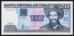 CUBA 20 PESOS 2005 PICK 122b UNC - Kuba