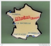 MARINA EUROPE *** CARTE DE FRANCE *** 1069 - Barcos