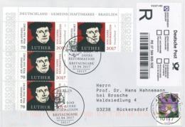 Martin Luther R-Brief - Krokus Berlin Reformation - Theologen