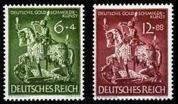 3. REICH 1943 Nr 860-861 Postfrisch S1D5C12 - Duitsland