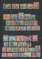 IRAQ British Occupation And Kingdom  Lot De 50 Timbres Perfect Used  Handstamped - Irak