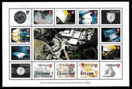 GREAT BRITAIN 2000 Tullis Russell Coatings Print Trial: Non-Postal Sheetlet UM/MNH - Varietà, Errori & Curiosità