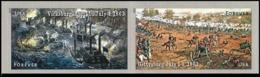 2013USA4974-4975PaarBattle Of Gettysburg & Battle Of Vicksburg 18632,40 € - United States