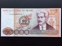 BRAZIL P207 50 On 50000 CRUZADOS 1986 UNC - Brasile