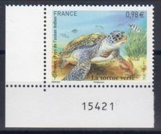 "FRANCE 2014  N° 4903 /  ""  Tortue Verte-FRANCE-taaf-comores-madagascar-maurice-seychelles  ""   / NEUF XX - Gemeinschaftsausgaben"