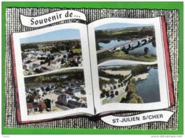 Carte Postale 88. Martigny-les-bains Livre Ouvert  Vue D'avion  Trés Beau Plan - France