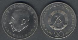 DDR 1971 -  20 Marchi H. Mann - [ 6] 1949-1990 : RDA - Rep. Dem. Tedesca