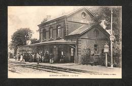 59 - QUESNOY SUR DEULE - La Gare ,#59/014 - Francia