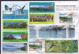 Argentina - 2019 - Lettre - Baleines - Oiseaux - Faune - Timbre Diverse - Briefe U. Dokumente