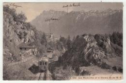 Suisse // Schweiz // Switzerland //  Valais // Les Marécottes Et Le Chemin De Fer Martigny-Châtelard - VS Wallis