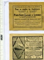 PUBLICITES / Env De La Poste, Années 1920 & 1980, Bel Ensemble à Poursuivre TTB  : - Postmark Collection (Covers)