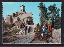 405i * REPUBLICA DI SAN MARINO * DIE FELSENBURG MIT ARMBRUSTSCHÜTZEN ** !! - San Marino