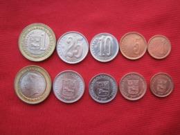 Venezuela 5 Monedas Bolívares Fuertes 2007 - Venezuela