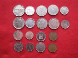 Venezuela 9 Monedas Diferentes - Venezuela