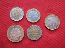 América 5 Monedas Bimetalicas Diferentes (b) - Lots & Kiloware - Coins