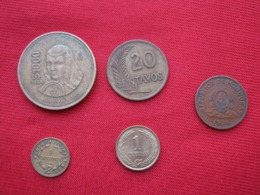 Lote 5 Monedas Americanas Diferentes (B1) - Lots & Kiloware - Coins