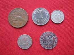 Lote 5 Monedas Americanas Diferentes (D1) - Lots & Kiloware - Coins