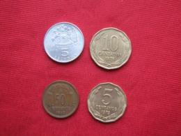 Chile Lot 04 Scarse Coins - Chili