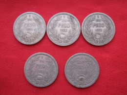 Chile Lot 05  Coins 1 Peso 1933 - Chili