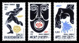 BRAZIL 1972 Mint MNH // Festival And Evenements - Brazil