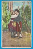 IMAGE DUROYON & RAMETTE CAMBRAI NORD CHICOREE CHOCOLAT / CHROMO SENECAUT ROUBAIX / RETOUR AU PAYS - Duroyon & Ramette