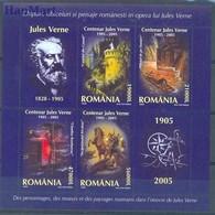 Romania 2005 Mi Bl 352 MNH ( ZE4 RMNbl352dav56B ) - Kind & Jugend