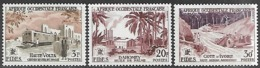French West Africa  1956  Sc#67, 71-2 Fides MNH  2016 Scott Value $6.40 - Unused Stamps