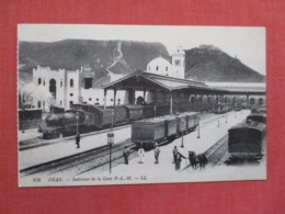 Oran Train Station     Ref 3692 - Bahnhöfe Mit Zügen