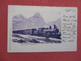 Gotthardt Express    Ref 3692 - Trains