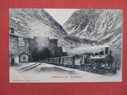 Gotthard Tunnel Expresszug ---------  Ref 3692 - Eisenbahnen