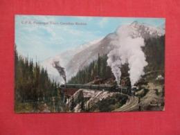C.P.R. Passenger Train Canadian Rockies ------  Ref 3692 - Trains