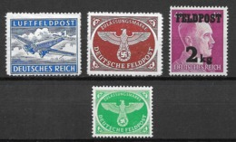 Feld Post 1942/1944  MNH - Deutschland
