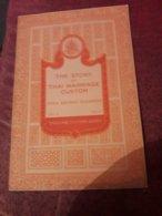 Fascicule Serie Civilisation  Thailand Te Story Of Thai Marriage Custom N°13 Tes 5 - Spiritualisme