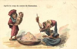 .A F N Herzib Après Le Coup De Canon Du Ramadan RV - Humour
