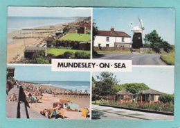 Small Multi View Post Card Of Mundesley On Sea,Norfolk.,England,N85. - Inglaterra