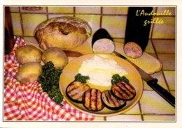 Réf. 512/ 1 CPM - Carte Postale Recette De Cuisine - L'andouille Grillée - Recettes (cuisine)