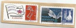 Timbres Personnalisés  Moana Services  (pag12) - Nieuw-Caledonië