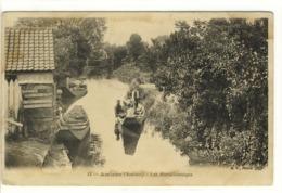 Carte Postale Ancienne Amiens - Les Hortillonnages - Agriculture - Amiens