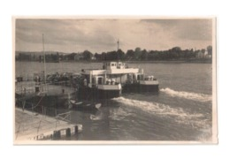 Vintage Photo Of Ferry Double Boat At Unknown Location, Lot # ETS 1428 - Transbordadores