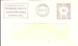 LETTER EMA 1931  GREAT BRETAIN - Química