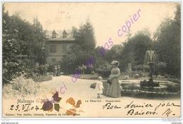 68. MULHOUSE . Le Réservoir . Wasserwerk . CPA Animée .  Mulhausen . - Mulhouse
