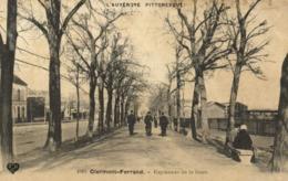 Clermont Ferrand Esplanade De La Gare RV  Beau Cachet - Clermont Ferrand