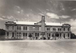 9594-CARESANA(VERCELLI)-SCUOLE COMUNALI E MONUMENTO AI CADUTI-1957 - Vercelli
