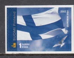 Finland 2002 - Freimarke: Nationalflagge, Mi-Nr. 1601, MNH** - Finland