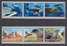 Finland 2003 - Fishs And Birds, Mi-Nr. 1629/34, MNH** - Finland